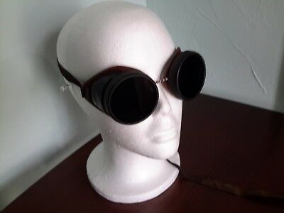 Vintage Welding Goggles Steampunk Glasses