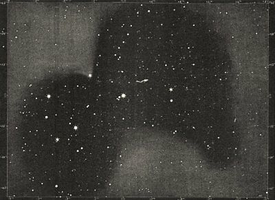 ASTRONOMY. Double stars Multiples. The Pleiades visible 571 stars 1877 print