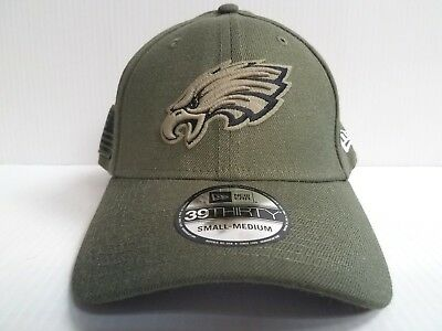 detailed look b684c 881c1 Philadelphia Eagles Cap Era 39Thirty Stretch Fit NFL 2018 Salute to Service  Hat