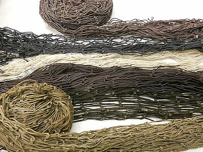 Recycled Fish Nets - Mixed Misc  Box - Many Colors & Sizes, Decor 10Lb/bx