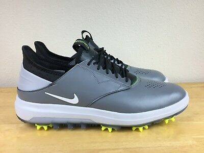 11ea061dbfd9c7 NIKE AIR ZOOM Direct Silver   White Golf Shoes Sz 10.5 NEW 923965 ...