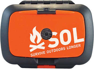 New! Amk Sol Origin Survival Kit W/ Knifecompasslight & More 01400828