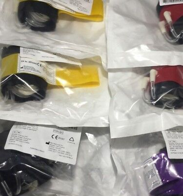 "Lot/6 Exp 2019/20 Sealed Stryker Color Cuffs 18"" 24"" 34"" Tourniquet       P7/kp"