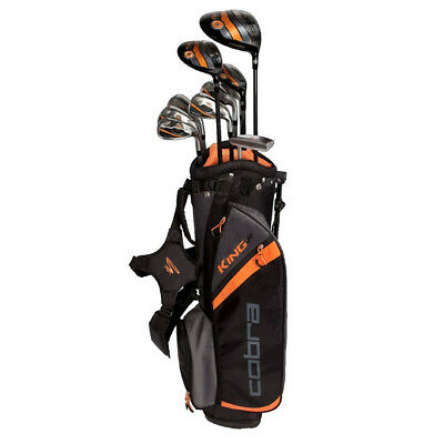 Neu Cobra Golf King Junior 10 Teile Komplett Schläger Set 2016 Driver, Eisen,