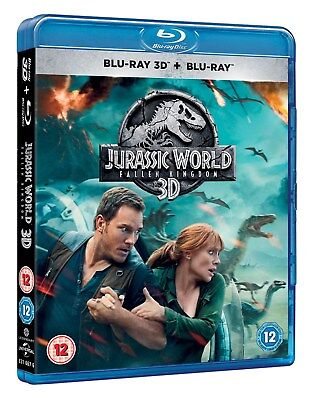 Jurassic World - Fallen Kingdom (3D + 2D ) [Blu-ray]