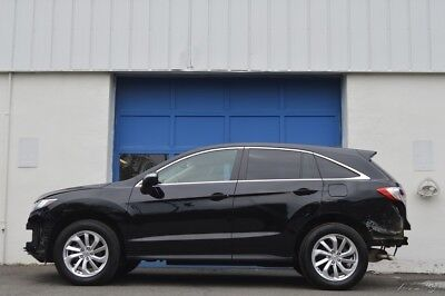 Acura RDX Technology Package Repairable Rebuildable Salvage Lot Drives Great Project Builder Fixer Easy Fix