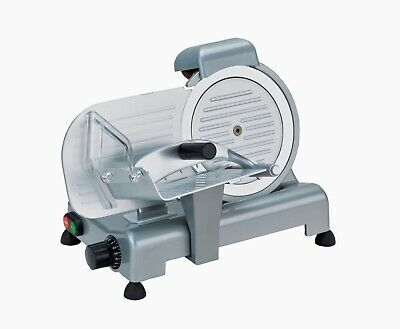 New RGV Meat Slicer 200mm Blade Semi-Automatic Butcher Deli Restaurant Kitchen