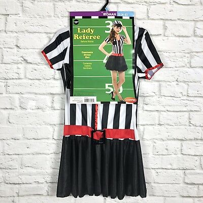 Lady Referee Womens Halloween Costume Small 4-6 NEW IN PACKAGE