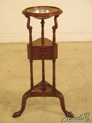 44026EC: KITTINGER CW-5 Colonial Williamsburg Mahogany Basin Stand
