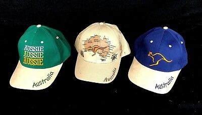 Australian Souvenir Cotton Embroidery Cap Baseball Hat NEW