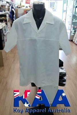 Butchers/Meat workers Coat White Or Black, With Collar