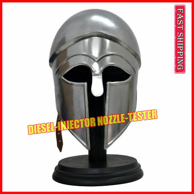 Greek Corinthian Helmet Collectibles Medieval Knight Crusader Armor Helmet