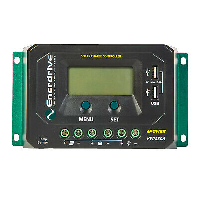 Enerdrive ePOWER PWM 30A Solar Charge Controller