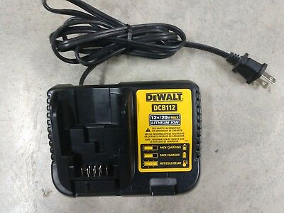 DEWALT 12V / 20V MAX Battery Charger Model# DCB112