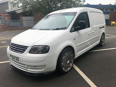 VW Caddy Maxi 2.0tdi,2010, subtly modified, just serviced, 12mths mot, ply lined