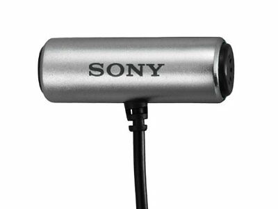 Sony Condenser Microphone  ECM-CS3 Tie Pin Type