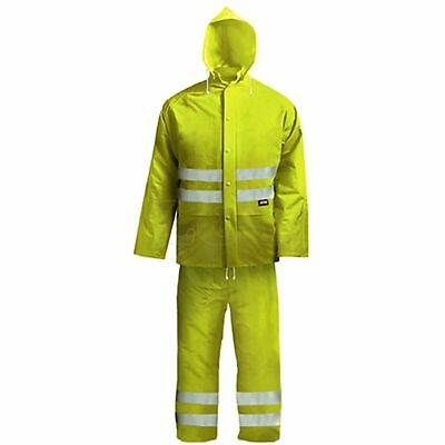 Hi-Visibility Rain Suit Yellow - XXL (45-49in) by Scan - BX230-XXL