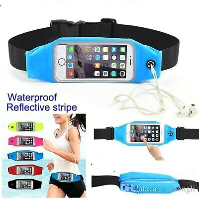 Sports Running Jogging Gym Waist Band Case Cover Holder for Apple iPhone