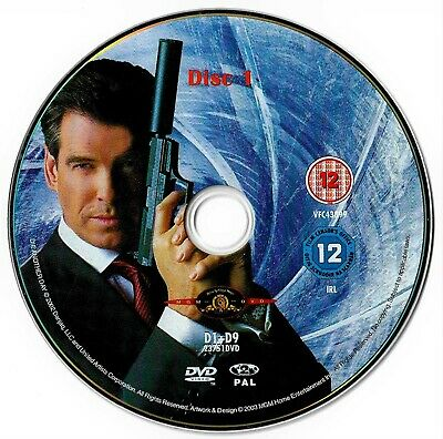 Die Another Day (DISC ONLY) DVD Action 007 James Bond
