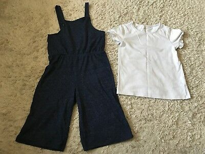 Age 7 Culotte Jumpsuit From Next
