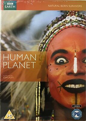 Human Planet Complete Series [3xDVD] New/Sealed Free P&P