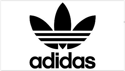 Adidas Sticker Logo Car Decal Vinyl !  Buy 2 Get 3 / Buy 3 Get / Buy 5 Get 10