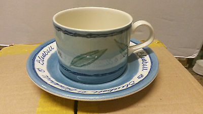 """Royal Stafford ,Bluebell Cup and Saucer x 2, 11"""" Plates x2, 8.5"""" Plates x2."""