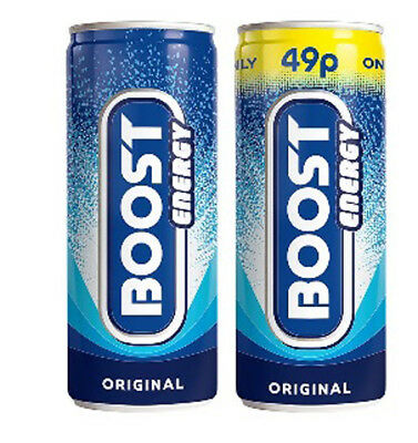 Boost Energy Drink 250ml = Case of 24 ( Price Marked)