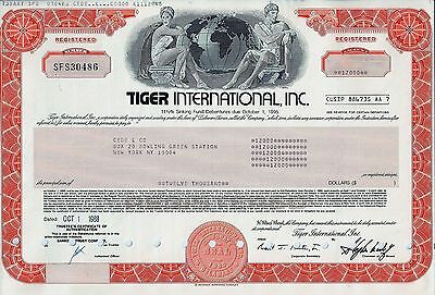 Tiger International Inc., 1988, 11  1/2% Sinking Fund Debenture  (12.000 $)