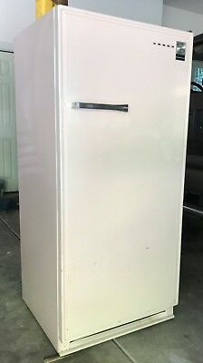 "Vintage 1950's Antique Retro PINK Norge Refrigerator, RUNS 25.5"" Deep 61.5"" Tall"
