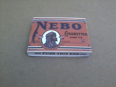 Reproduction Nebo Cigarette Pack