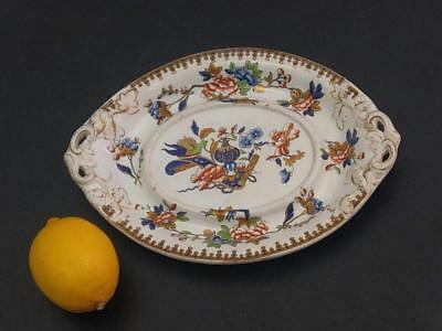 Copeland and Garrett Royal Opal Boat saucer under plate early 19th century