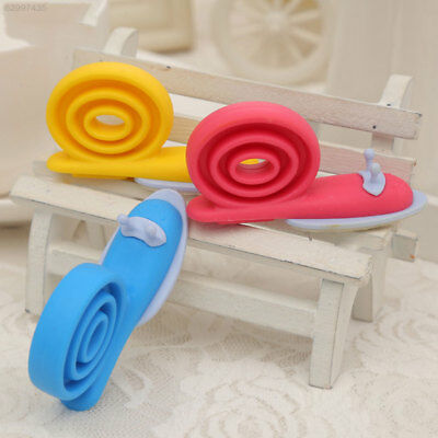 2BB7 Door Clip Floor Stop Cartoon Snail Shape Silicone Baby Safety