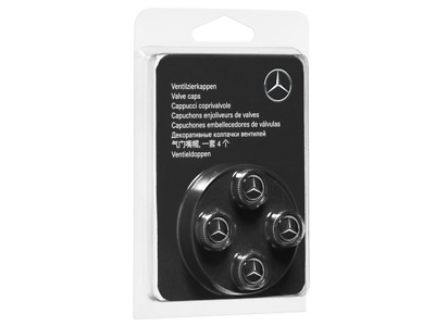 Mercedes Benz Original Ventilzierkappen 4- Set
