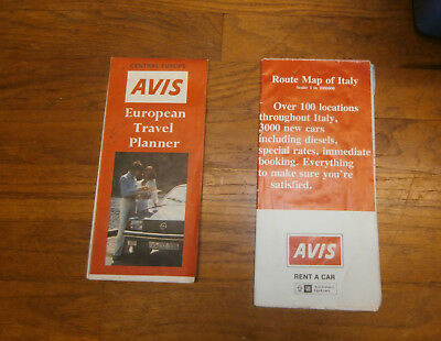 2 Vintage Road Map AVIS Europe and Italy