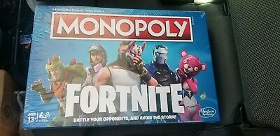 Fortnite Monopoly - Brand New - Factory Sealed - Ready to Ship