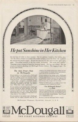 1919 Mcdougall Kitchen Cabinet Household Home Decor Ad-8555
