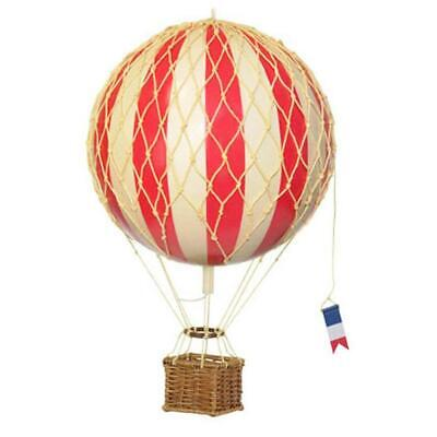 NEW Floating The Skies Hot Air Balloon Model 8.5 CM True Red