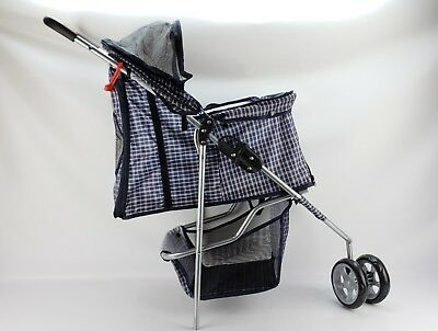 Pet Stroller Jogging Stroller For Sm Cats Dogs Foldable missing part READ