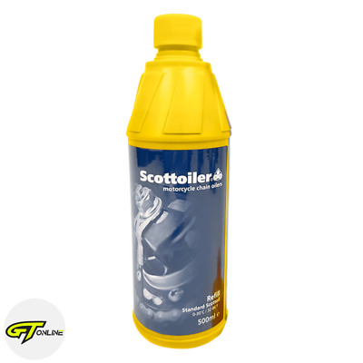 Scottoiler 500ml Blue Oil Motorcycle Chain System Refill / Top Up Bottle