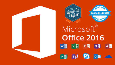 Microsoft Office 365/2016 Pro | 5TB OneDrive | Multilanguage | Win/Mac/Android