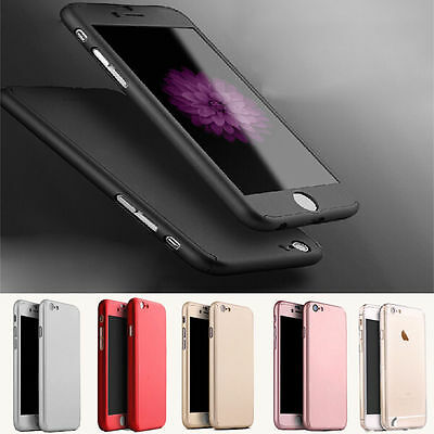 3D Full Cover 360° Huawei Mate 10 Lite P10 P20 Y7 Schutz Hülle Case Panzerfolie