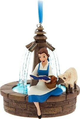 Disney Sketchbook Belle Singing Ornament Beauty And The Beast 2017 Charm