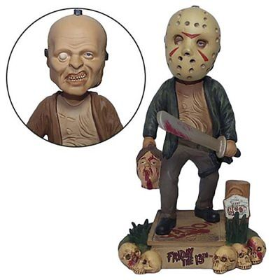 """Friday the 13th ~ JASON VOORHEES ~ 8"""" Bobble Head by FOCO Products     2018"""