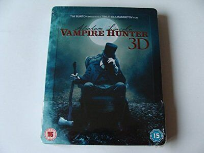 ABRAHAM LINCOLN VAMPIRE HUNTER BD3D STEELBOOK EXCL [Blu-ray] [DVD][Region 2]
