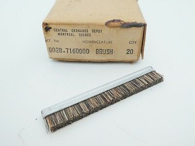 US WW2 Horse Hair M1 Carbine M1 Garand Cleaning Brush M1903 New Old Stock