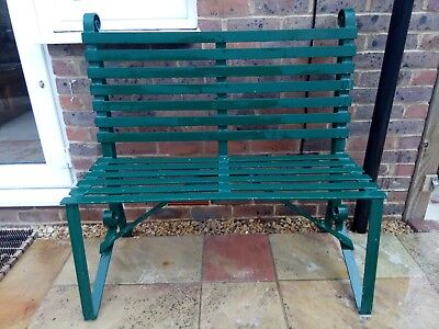 Bespoke iron garden bench