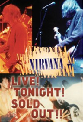 Nirvana: Live! Tonight! Sold Out! (UK IMPORT) DVD NEW