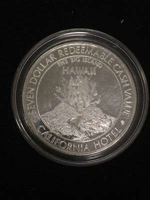 """Special Hawaii """" The Big Island"""" Coin from California Hotel & Casino"""