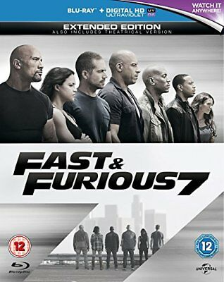 Fast and Furious 7 [Blu-ray] [Region Free] [DVD][Region 2]